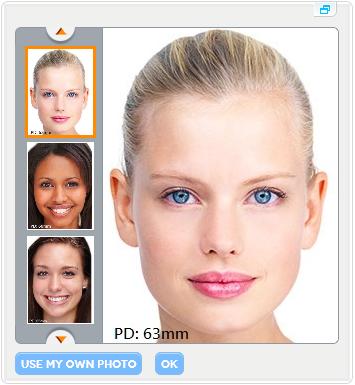 select a face