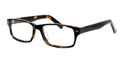 Picture of iLookGlasses DNA 7129 TORTOISE - PLASTIC,RECTANGLE,OVAL,FULL-RIM,fashion,classic,office,everyday - prescription eyeglasses online USA