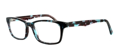 Picture of iLookGlasses DNA7307 TURQUOISE - PLASTIC,RECTANGLE,OVAL,FULL-RIM,fashion,office,everyday - prescription eyeglasses online USA