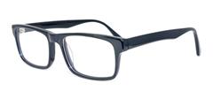 Picture of iLookGlasses DNA 8425 BLACK - PLASTIC,RECTANGLE,FULL-RIM,fashion,office,everyday - prescription eyeglasses online USA