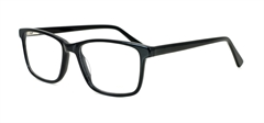 Picture of iLookGlasses DNA 8700 BLACK - PLASTIC,RECTANGLE,FULL-RIM,fashion,office,everyday - prescription eyeglasses online USA