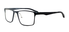 Picture of iLookGlasses MOMENTUM 6662 BLACK - RECTANGLE,METAL,FULL-RIM,fashion,light weight,office,sporty,everyday - prescription eyeglasses online USA