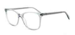 Picture of iLookGlasses DNA 9197 GREY - PLASTIC,RECTANGLE,FULL-RIM,fashion,office,everyday - prescription eyeglasses online USA
