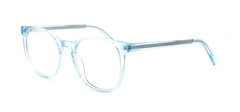 Picture of iLookGlasses DNA 9199 CRYSTAL BLUE - PLASTIC,OVAL,ROUND,FULL-RIM,fashion,office,everyday - prescription eyeglasses online USA